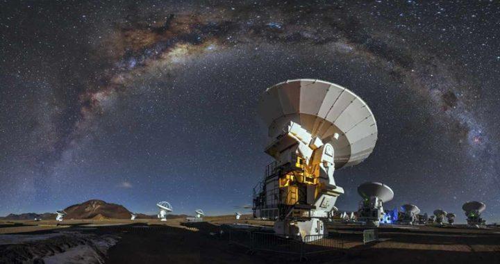 Detectan señales misteriosas de otras galaxias