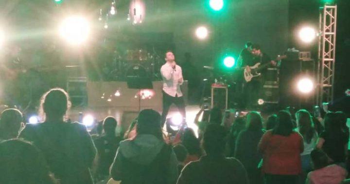 Martín Ricca ofrece concierto en Boca del Río
