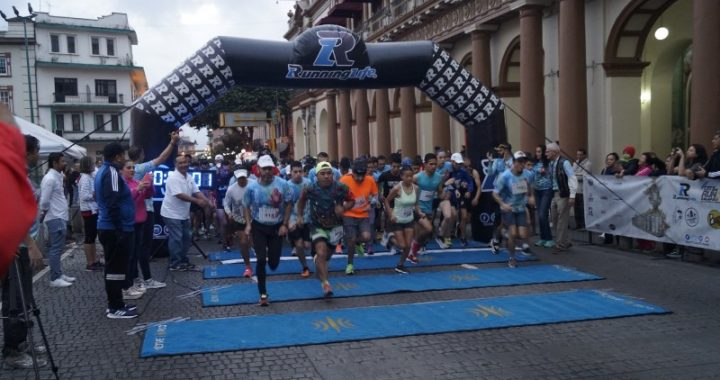 Fiesta total en la quinta City Run Xalapa
