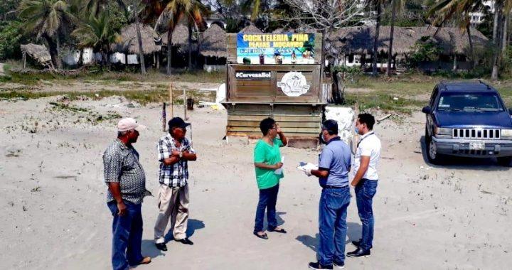 Cierran playas, parques y unidades deportivas en Boca del Río