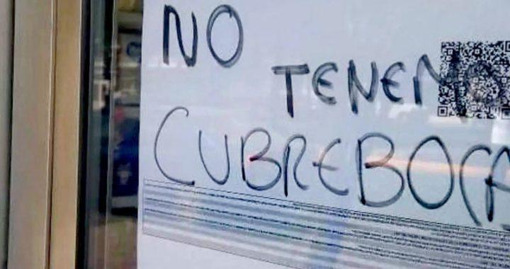 Cubrebocas y gel antibacterial agotados en Veracruz, Boca y Medellín