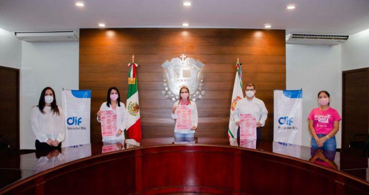 """Boca del Río  lanza campaña """"Ponte la Rosa"""""""