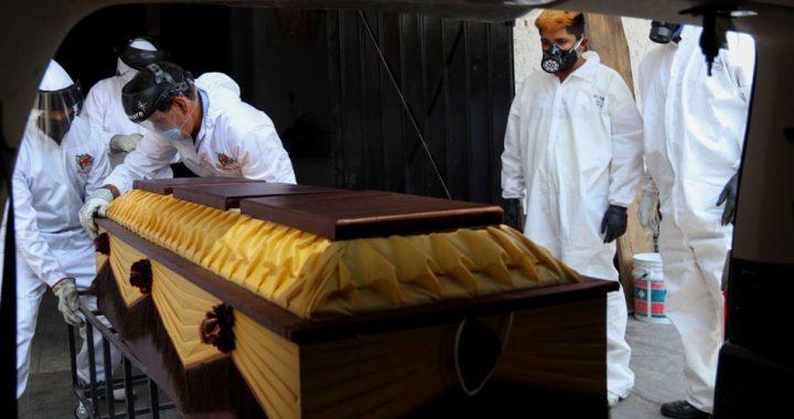 Muertes por Covid en Veracruz; superan las 9 mil