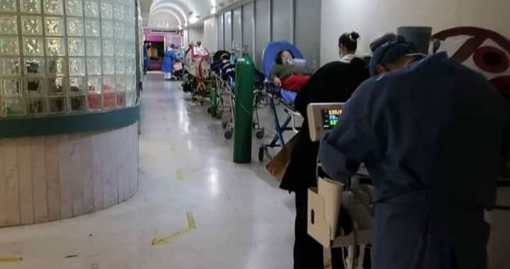 Realizan reconversión hospitalaria ante aumento de Covid
