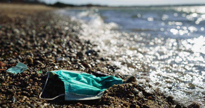Mil millones de cubrebocas han terminado en el mar