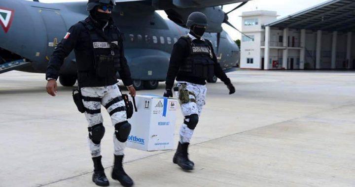 Vacuna contra el Covid llega a Veracruz; más de 19 mil