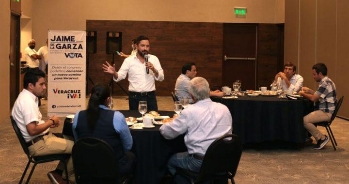 Buscará Jaime de la Garza más presupuesto para promoción turística en Veracruz