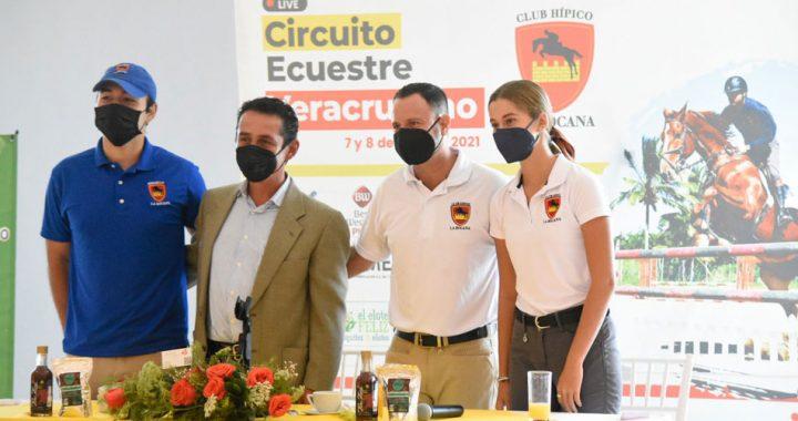 Presentan la 5ta fecha del Circuito Ecuestre Veracruzano