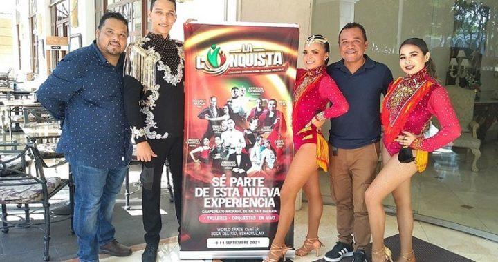 Anuncian Congreso y Competencia de salsa en Veracruz