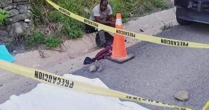 Tráiler mata a niña haitiana en Las Choapas