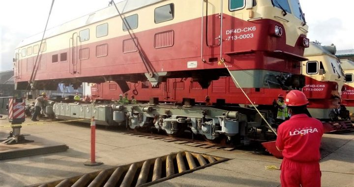 Tren Maya llega al puerto de Coatzacoalcos