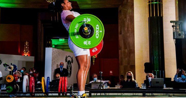 ¡De Tlalixcoyan para el mundo! Ángeles Cruz es medallista mundial