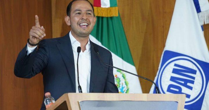PAN reelige a Marko Cortés como su presidente nacional