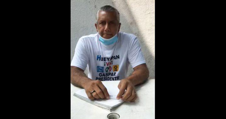 Gaspar Gómez asegura que han amenazado a sus seguidores